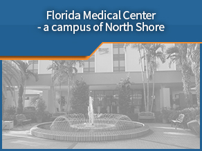 Exterior shot of Florida Medical Center. Third location.