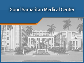 Exterior shot of Good Samaritan Medical Center. Fourth location.
