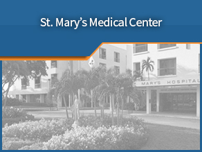 Exterior shot of St. Mary's Medical Center. Tenth location.